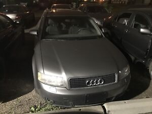 Mechanic Special 2003 audi a4 wagon
