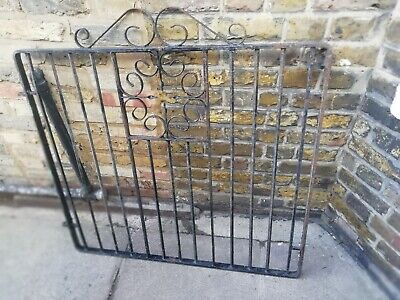 Victorian/Edwardian Wrought Iron Gate 40 X 40 Inch