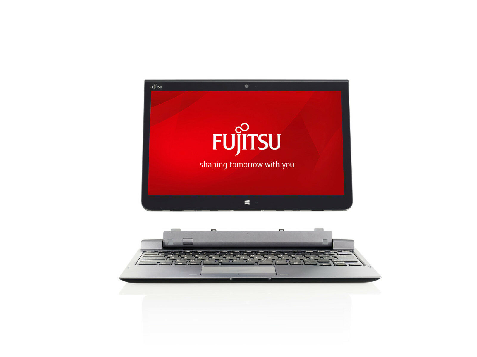 Fujitsu STYLISTIC Q775 Tablet PC 13.3 i5-5300U with Keyboard Cradle CP684885-01