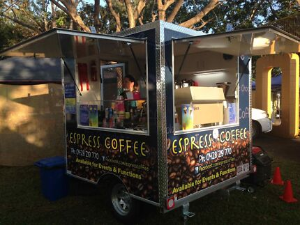 Mobile Coffee Trailer Business Atherton Tablelands Preview