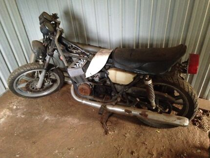 Yamaha RD250, 1980, Parts Bike, Restoration