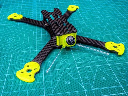 Antenna mount+MOTOR GUARD+BUMPER 3DPOWER x ARMATTAN Marmotte Combo Upgrade Kit