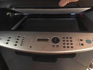 Laser printer scan, print,copy,fax