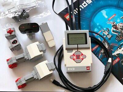 Lego Mindstorms EV3 Intelligent Brick, Motors, Sensors and Balls