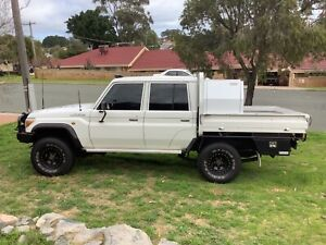 2014 Toyota Landcruiser Workmate (4x4) 5 Sp Manual Double C/chas
