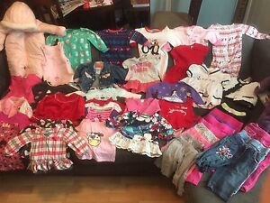Lot of 12 month girls clothing
