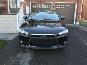 "2014 Mitsubishi Lancer Leather 6.1"" Touchscreen keyless entry"