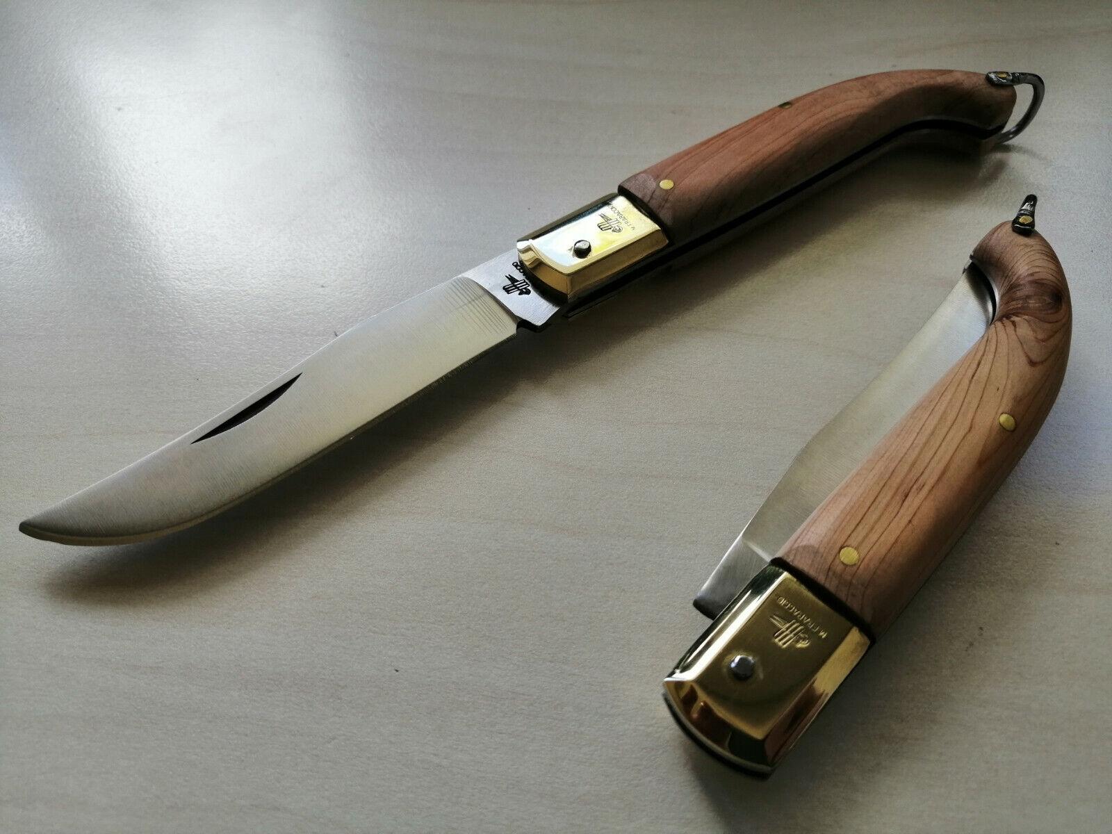Coltello Tradizionale Zuavo legno di Ginepro Frosolone couteau navaja knife