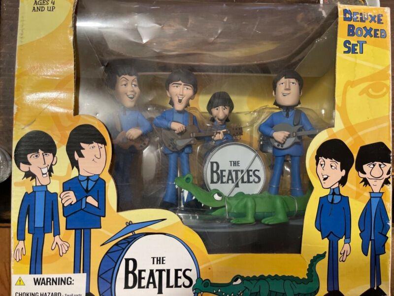 The Beatles Cartoon Mcfarlane Figurine Deluxe Box Set