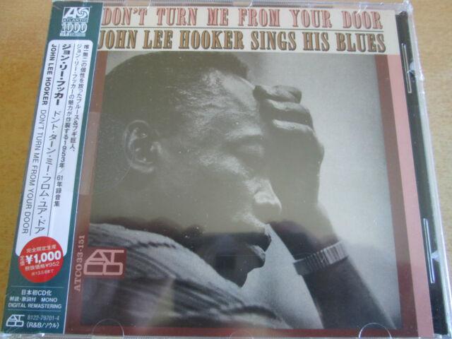 John Lee Hooker - Don't Turn Me From Your Door (CD)  NEW/SEALED  SPEEDYPOST