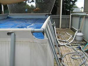 Above ground swimming pool with extras St Marys Mitcham Area Preview