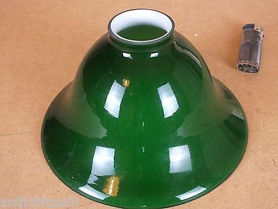 Lampenschirm E14  E27 Glasschirm dunkelgrün Antik Stil für Wand Steh Hängelampe