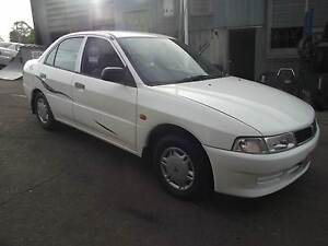 98 Mitsubishi Lancer Sedan 4CYL, 5SPD, RWC, CLEAN, CHEAP. Loganlea Logan Area Preview