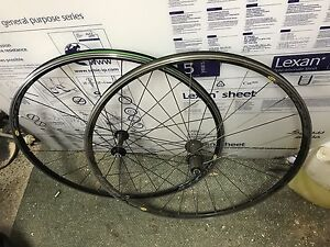 700c road bike wheelset