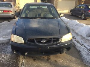 2001 Hyundai Accent inexpensive great little car