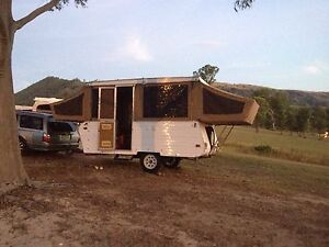 Jayco wind up, pop top caravan The Entrance Wyong Area Preview