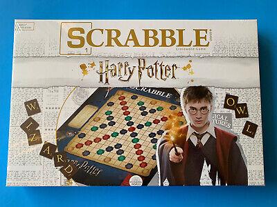 Wizarding World Of Harry Potter ~ SCRABBLE Crossword Board Game ~ New & Sealed