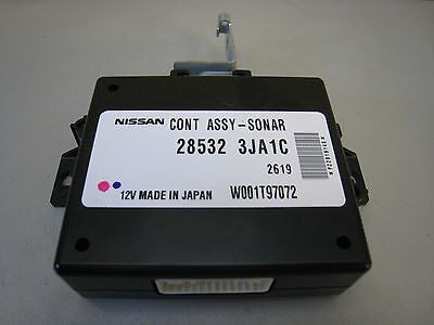 OEM Nissan Pathfinder 28532-3JA1C Sonar Controller Assembly Rear Park Assist