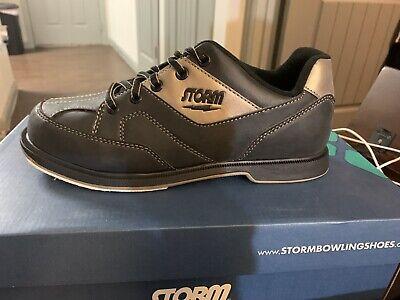 New Storm Taren. SM0000291. bowling shoes Men 7/M. Right Handed.  Black/Bronze for sale  Katy