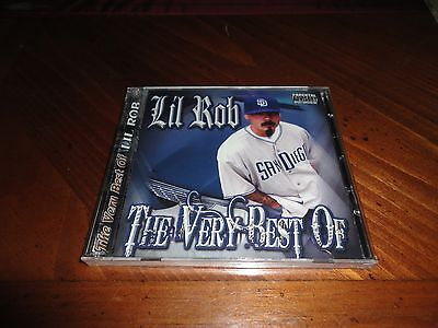Chicano Rap CD Lil Rob - the Very Best of - 2 Disc Set - West Coast