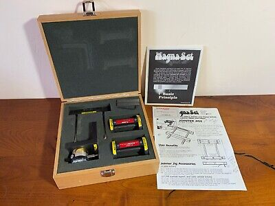 Pro Kit Pk Magna-set Jointer And Planer Knife Setting Jigs And Dial Indicator