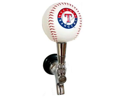 Texas Rangers Licensed Baseball Beer Tap Handle