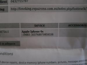 I Phone 6s Heddon Greta Cessnock Area Preview