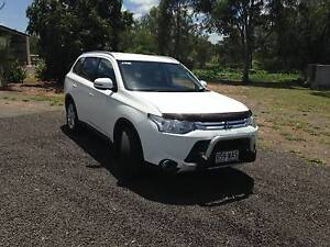 2014 Mitsubishi Outlander LS ZJ Auto 4WD MY14.5 Bluff Central Highlands Preview