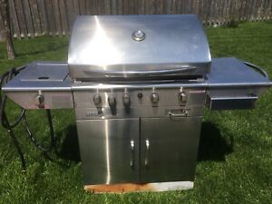 Natural gas barbecue