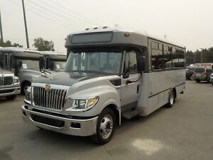 2013 International 3000 22 Passenger Bus Diesel with Wheelchair