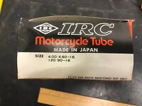 IRC 4.00//4.60-16 120//90-16 Inner Tire Tube Motorcycle 400//460-16 Straight TR4