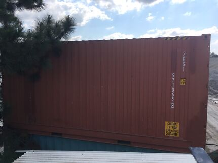 Shipping container HIGHCUBE 20 foot watertight