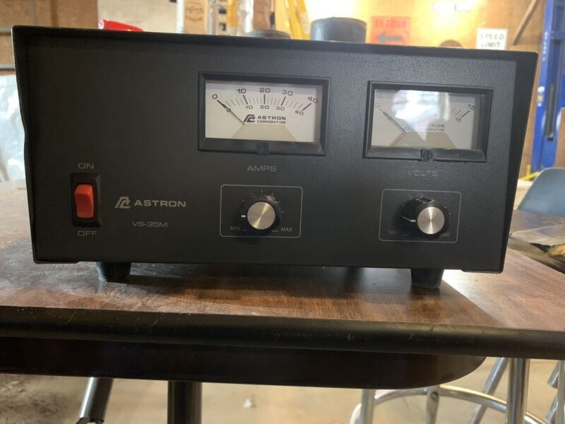 Astron VS-35M Linear Power Supply