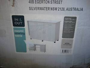 Naomi sewing table/cabinet Belmont North Lake Macquarie Area Preview