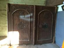 Antique, industrial metal safe Frenchs Forest Warringah Area Preview