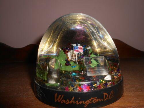 Washington DC Water Globe Pen Holder Souvenir