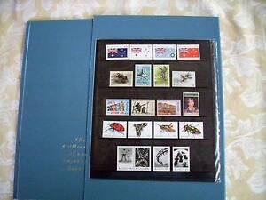 Australian Post Annual Stamp Collection with Mint stamps 1991 Mildura Centre Mildura City Preview