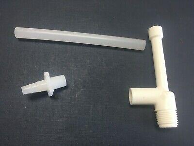 Nalgene 6140-0010 Faucet Aspirator Vacuum Pump Polypropylene 28.5hg