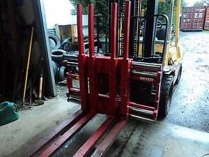MEYER TWIN PALLET HANDLER FORKLIFT ATTACHMENT Kyneton Macedon Ranges Preview