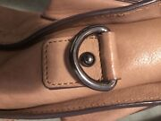 Marcus B genuine leather handbag- camel brown colour Melbourne CBD Melbourne City Preview