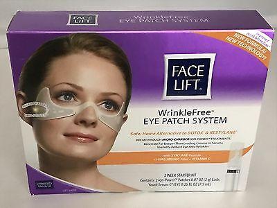 University Medical Face Lift Wrinkle Free Eye Patch System 2 WK. Starter Kit