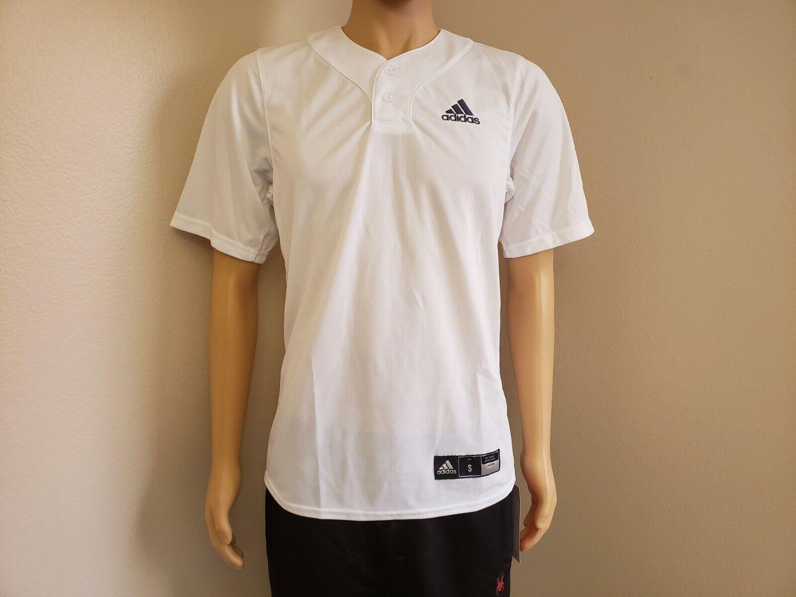 Adidas Diamond King Elite Full Button Jersey White / Onix CY2101 ...