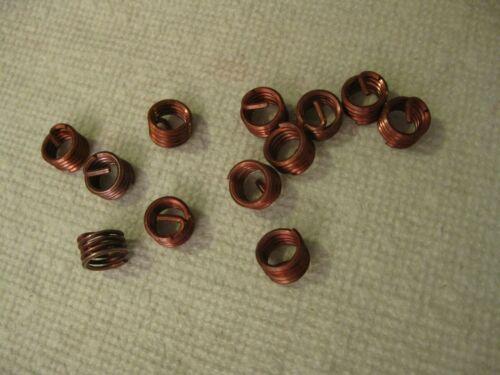 3/8-16 x .375 Helicoil Screw-Locking Thread Insert 12pc Lot