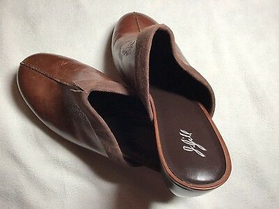 10M J Jill Brown Leather Mules for sale  Hatboro