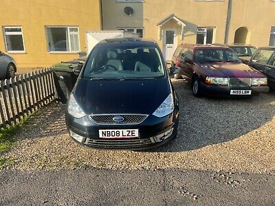 2008 Ford Galaxy 2.0 TDCI automatic seven seater in black