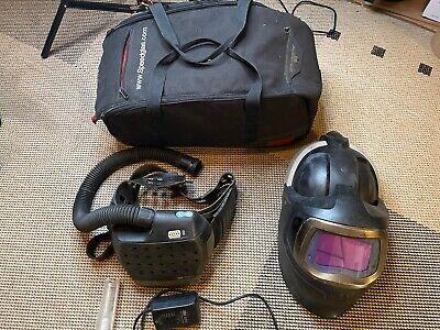 3m 37-1101-30sw Speedglas 9100mp Adflo Hard Hat Papr Welding Helmet Xx Lens