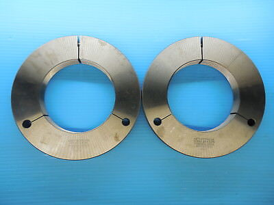 4 78 16 Unj 3a Thread Ring Gages 4.875 Go No Go P.d.s 4.8299 4.8344 Tooling