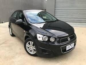2014 Holden Barina CD Manual Sedan BLACK LOW KMS 93,101 REG & RWC Bayswater North Maroondah Area Preview