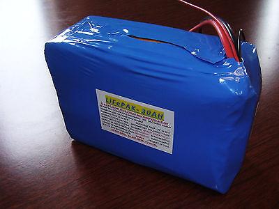 LiFePO4 battery 12V 30AH Built In BMS Solar Battery Backup Power Deep Cycle UPS