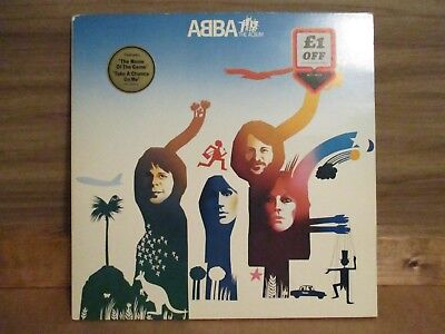 ABBA – The Album    Vinyl LP Album Gatefold UK 1977 Europop    EPIC - EPC 86052